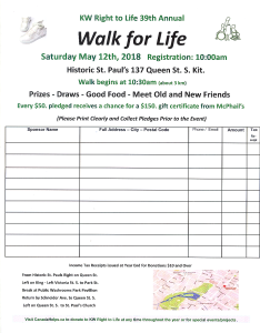 Walk for Life provides funds for our many Educational programs and activities.